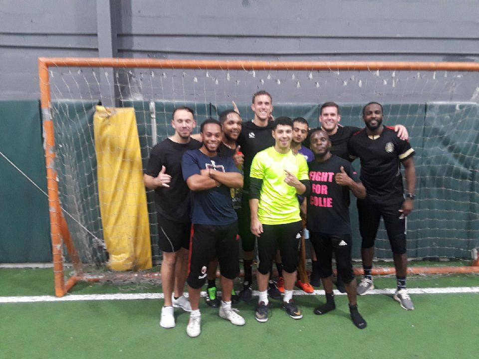 Men's League Summer 2018 Winners